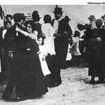 Milonga dance in 1915