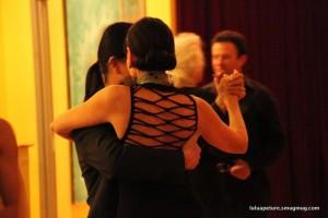 Dancers at El Abrazo