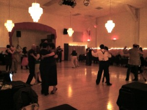 The Verdi Club Ballroom early in the evening.
