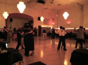 The Verdi Club Ballroom early in the evening.