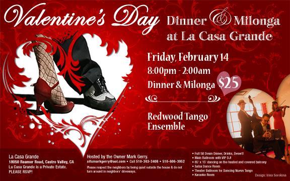 Valentines Day milonga 2014