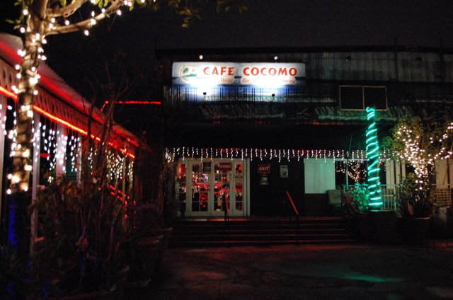 Tango at Cafe Cocomo was on Monday nights.