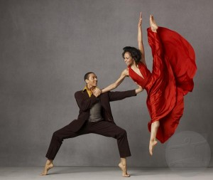 Alvin Ailey dancers. Photo by: Andrew Eccles